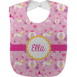 Princess Carriage Baby Bib (Personalized)