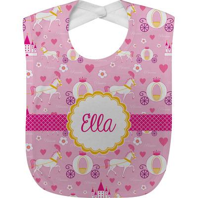 Princess Carriage Baby Bib (Personalized)