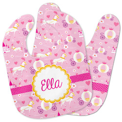 Princess Carriage Baby Bib w/ Name or Text