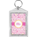 Princess Carriage Bling Keychain (Personalized)