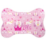 Princess Carriage Bone Shaped Dog Food Mat (Personalized)
