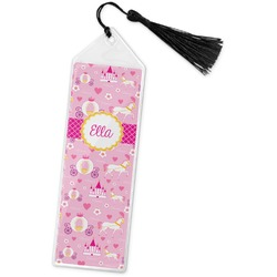 Princess Carriage Book Mark w/Tassel (Personalized)