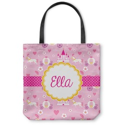 Princess Carriage Canvas Tote Bag (Personalized)