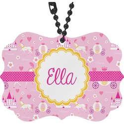 Princess Carriage Rear View Mirror Charm (Personalized)
