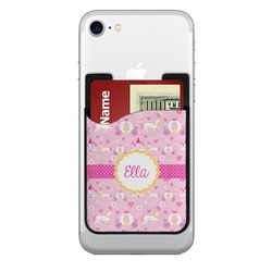 Princess Carriage 2-in-1 Cell Phone Credit Card Holder & Screen Cleaner (Personalized)