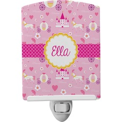 Princess Carriage Ceramic Night Light (Personalized)