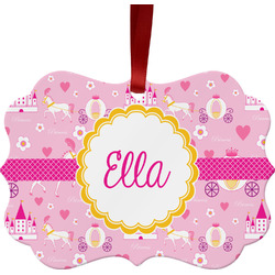 Princess Carriage Ornament (Personalized)