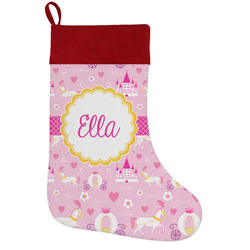 Princess Carriage Holiday Stocking w/ Name or Text