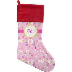 Princess Carriage Christmas Stocking (Personalized)