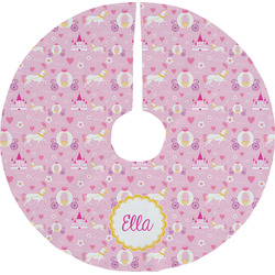 Princess Carriage Tree Skirt (Personalized)