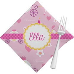 Princess Carriage Napkins (Set of 4) (Personalized)