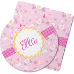 Princess Carriage Rubber Backed Coaster (Personalized)