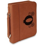 Princess Carriage Leatherette Book / Bible Cover with Handle & Zipper (Personalized)