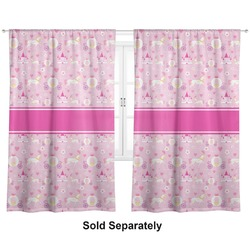 "Princess Carriage Curtains - 40""x84"" Panels - Unlined (2 Panels Per Set) (Personalized)"