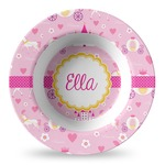 Princess Carriage Plastic Bowl - Microwave Safe - Composite Polymer (Personalized)