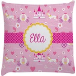 Princess Carriage Decorative Pillow Case (Personalized)