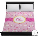 Princess Carriage Duvet Cover (Personalized)