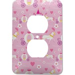 Princess Carriage Electric Outlet Plate (Personalized)