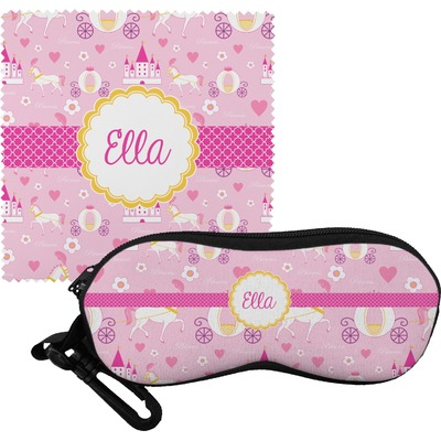 Princess Carriage Eyeglass Case & Cloth (Personalized)