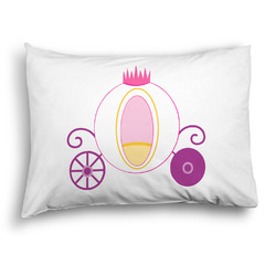 Princess Carriage Pillow Case - Standard - Graphic (Personalized)