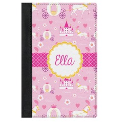Princess Carriage Genuine Leather Passport Cover (Personalized)