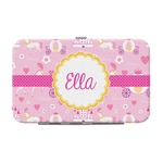 Princess Carriage Genuine Leather Small Framed Wallet (Personalized)