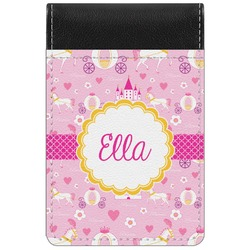 Princess Carriage Genuine Leather Small Memo Pad (Personalized)