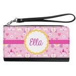Princess Carriage Genuine Leather Smartphone Wrist Wallet (Personalized)