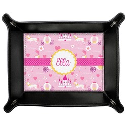 Princess Carriage Genuine Leather Valet Tray (Personalized)