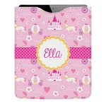 Princess Carriage Genuine Leather iPad Sleeve (Personalized)