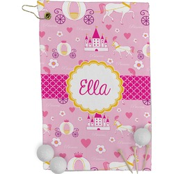 Princess Carriage Golf Towel - Full Print (Personalized)