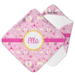 Princess Carriage Hooded Baby Towel (Personalized)