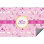 Princess Carriage Indoor / Outdoor Rug (Personalized)