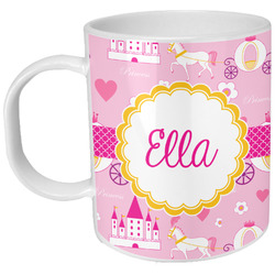 Princess Carriage Plastic Kids Mug (Personalized)