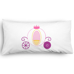 Princess Carriage Pillow Case - King - Graphic (Personalized)
