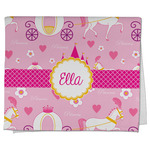 Princess Carriage Kitchen Towel - Full Print (Personalized)