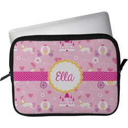 """Princess Carriage Laptop Sleeve / Case - 15"""" (Personalized)"""