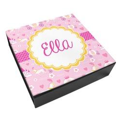 Princess Carriage Leatherette Keepsake Box - 3 Sizes (Personalized)