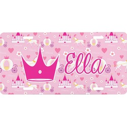 Princess Carriage Front License Plate (Personalized)