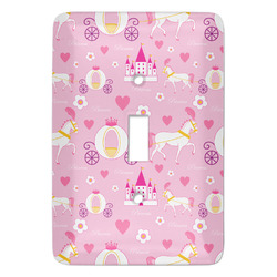 Princess Carriage Light Switch Covers - Multiple Toggle Options Available (Personalized)