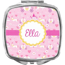 Princess Carriage Compact Makeup Mirror (Personalized)