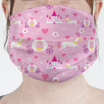 Princess Carriage Face Mask Cover (Personalized)