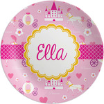 Princess Carriage Melamine Plate (Personalized)