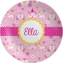 Princess Carriage Melamine Plate (Personalized)
