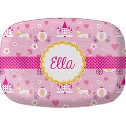 Princess Carriage Melamine Platter (Personalized)