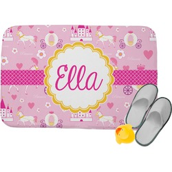 Princess Carriage Memory Foam Bath Mat (Personalized)
