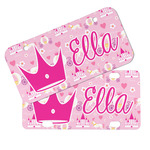 Princess Carriage Mini/Bicycle License Plates (Personalized)
