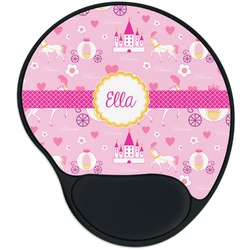 Princess Carriage Mouse Pad with Wrist Support
