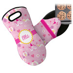 Princess Carriage Neoprene Oven Mitt (Personalized)