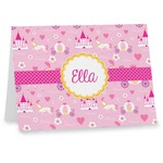 Princess Carriage Note cards (Personalized)